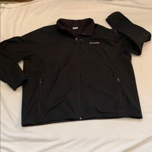 Men's Columbia Ascender Softshell jacket Black 4XT